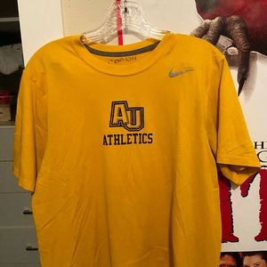 au athletics dri fit nike t shirt
